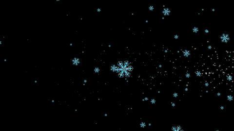 snowflake 7 Stock Video Footage