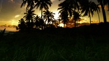 Time-lapse Of Brazilian Sunset stock footage