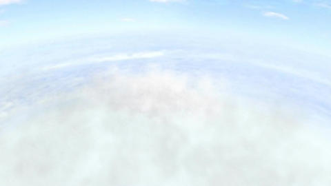 Flying Through Clouds (Version #1) Stock Video Footage