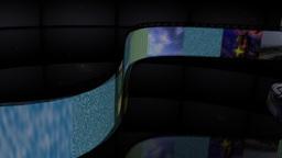 Filmstrip Panel Element Stock Video Footage