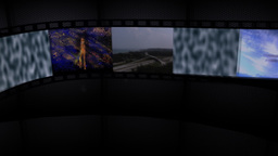 Filmstrip Panel Element CG動画素材