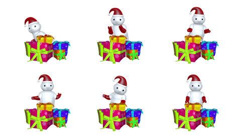 サンタダンス Animation