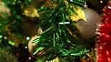 Christmas-tree decorations Footage