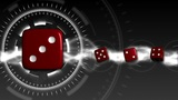 Casino Dice Background - Casino 18 (HD) stock footage