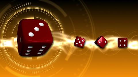 Casino Dice Background - Casino 20 (HD) Animation