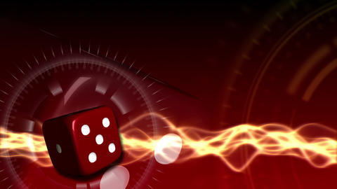 Casino Dice Background - Casino 24 (HD) Stock Video Footage
