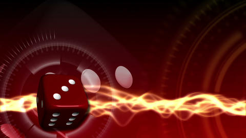 Casino Dice Background - Casino 24 (HD) Stock Video Footage