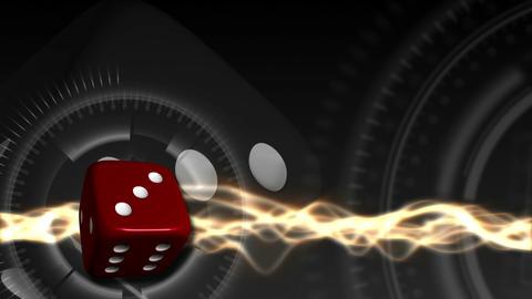 Casino Dice Background - Casino 28 (HD) Animation