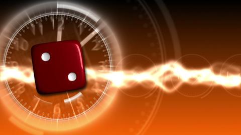 Casino Dice Background - Casino 30 (HD) Stock Video Footage