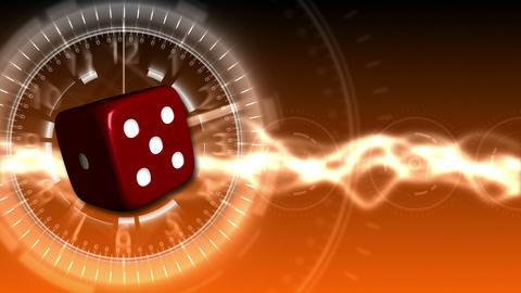 Casino Dice Background - Casino 30 (HD) Stock Video Footage