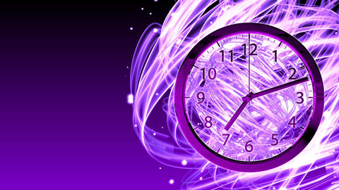 Passing Time Background - Clock 72 (HD) Animation