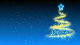 Christmas Tree Background - Merry Christmas 17 (HD) Animation