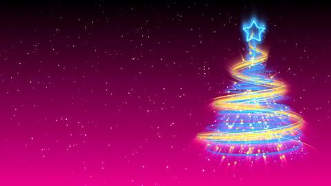 Christmas Tree Background - Merry Christmas 19 (HD) Animation