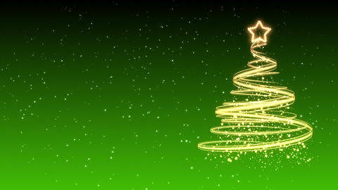 Christmas Tree Background - Merry Christmas 31 (HD) Animation