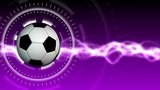 Soccer Ball Sport Background 05 (HD) stock footage