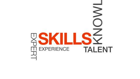 Skills Stock Video Footage