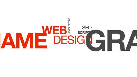 Web Design Stock Video Footage
