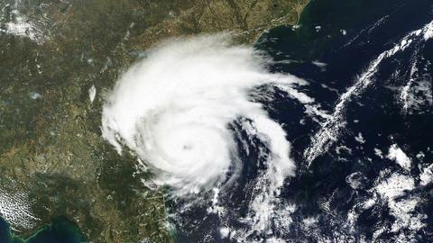Hurricane USA East Coast Satellite Design 01 Animation