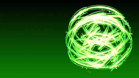Light Streaks Circle - Abstract Background 68 (HD) Stock Video Footage