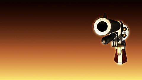 Old Revolver Shooting - Revolver 04 (HD) Animation