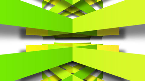 green square Stock Video Footage