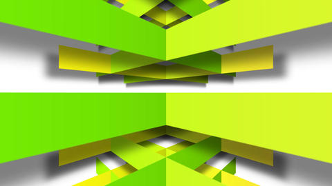 green square Animation