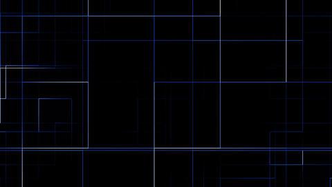 blue circuit Stock Video Footage