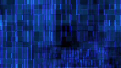 blue pixel Stock Video Footage