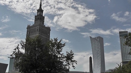 Warsaw City Center Footage