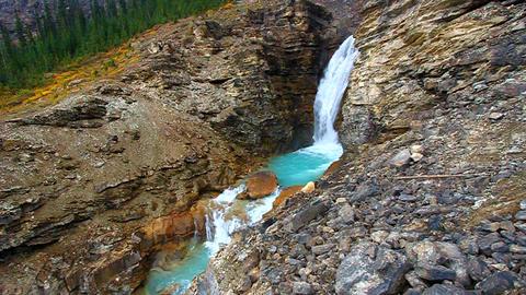 Yoho National Park Canada Footage