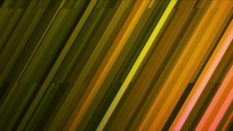 Broadcast Twinkling Slant Hi-Tech Bars, Green, Abstract, Loopable, HD Animation