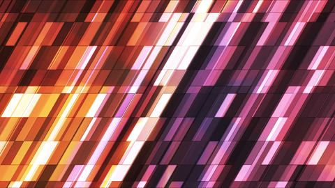 Broadcast Twinkling Slant Hi-Tech Small Bars, Magenta Orange, Abstract, Loopbale, HD Animation