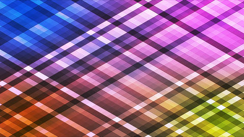 Broadcast Twinkling Diamond Hi-Tech Strips, Multi Color, Abstract, Loopable, HD Animation