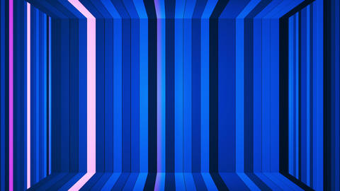 Broadcast Twinkling Vertical Hi-Tech Bars Room 01 Animation