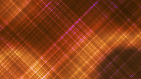 Broadcast Intersecting Hi-Tech Slant Lines, Golden Orange, Abstract, Loopable, Animation
