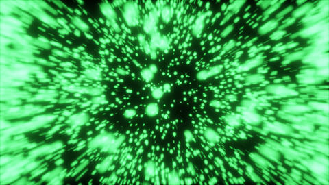 Particle Explosion CG動画素材