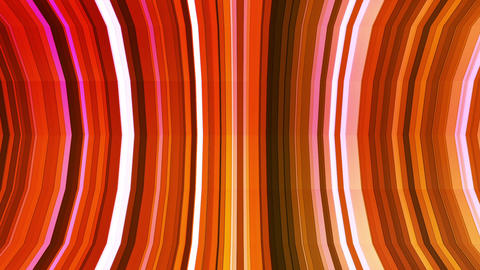 Broadcast Twinkling Vertical Bent Hi-Tech Strips, Orange Magenta, Abstract, Animation