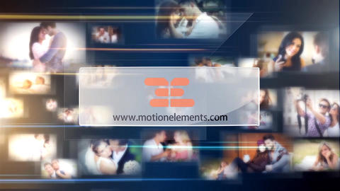 Multi Photo Logo Reveal 3 After Effects Template
