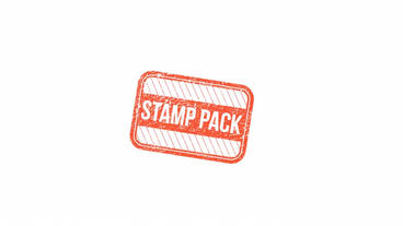 Visa & Simple Stamps After Effects Template