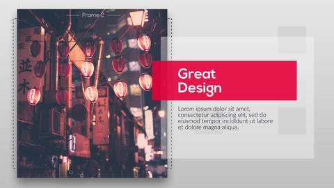 Modern Minimal Presentation After Effects Template
