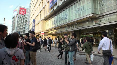 Japan Tokyo Shinjuku Station West side October 2017 ライブ動画