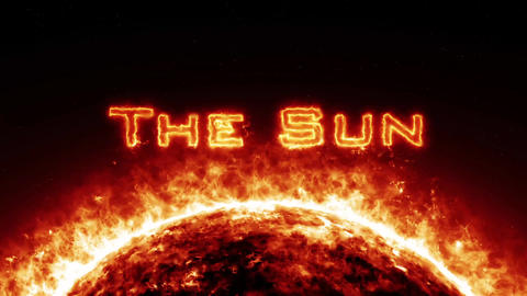 Powerful Sun Intro Project After Effects Template