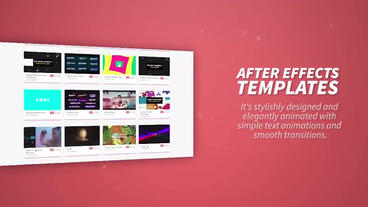 Website Presentation Premiere Pro Template