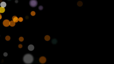 01 Particles Background Overlay, Stock Animation