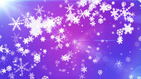 Broadcast Snow Flakes 14 Animation