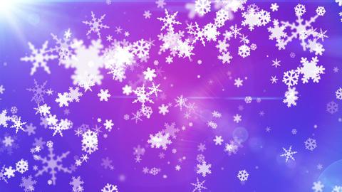 Broadcast Snow Flakes 14 Animation