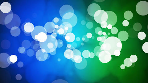 Broadcast Light Bokeh, Blue Green, Events, Loopable, HD Animation