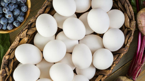 Naturally Dyed Easter Eggs Live Action