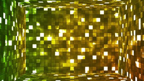 Broadcast Firey Light Hi-Tech Squares Room 01 Animation