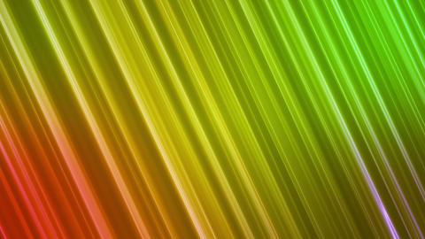 Broadcast Back Slant Hi-Tech Lines, Green Orange, Abstract, Loopable, HD Animation